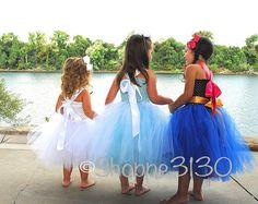 Frozen Inspired Tutu Dress Up Costume - Shoppe3130
