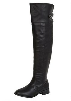 Bamboo Asiana-67/Nolan Riding Boot - Alloy Apparel. Received these a few days ago, and they are totally gorgeous and essential as a basic black boot.
