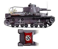 Panzerbefehlswagen 35(t) (carro de mando), numeral «A+03»