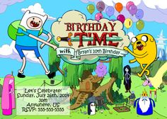 Adventure Time Birthday Images