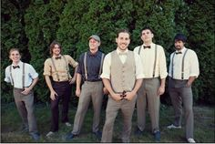 rustic-attire-for-groom-and-groomsmen | Wedding Plans | Pinterest