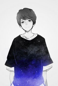 Galaxy - for some odd reason, he reminds me of Dan Howell xD