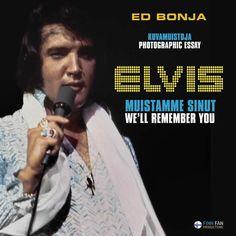 Kesällä 2014 julkaistavan Elvis-kuvakirjan etukansi