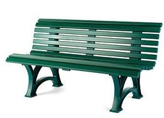 This classic bench is built like those you see in parks, public gardens and playgrounds, and is made from the same high-quality, practically indestructible, commercial-grade PVC. Built to last a lifetime, the traditional design fits in anywhere and is easy to care for and maintain. Sits three comfortably.