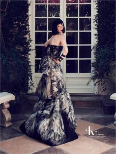 Lucy Liu Sports Modern Elegance for More Magazine, Lensed by Emre Guven | Fashion Gone Rogue: The Latest in Editorials and Campaigns