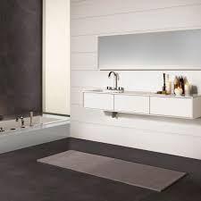 Image result for bathroom dark floor white walls
