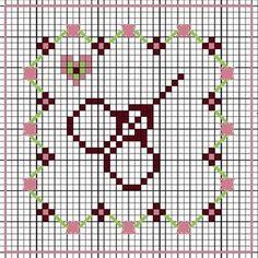 cross stitch pincushion