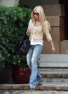 Jessica Simpson at Ken Paves Home in North Hollywood February 4 2006