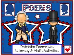 Presidents' Day - Washington and Lincoln Poems FREEBIE! {CCSS} This product features 2 singable poems of the two Presidents (George Washington and Abraham Lincoln) whose birthdays are celebrated on Presidents' Day. The Lincoln penny and Washington dollar are part of the poems' lyrics.