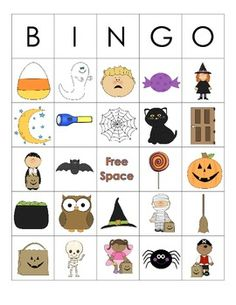 Halloween Themed Language Activities for Preschool/Kindergarten