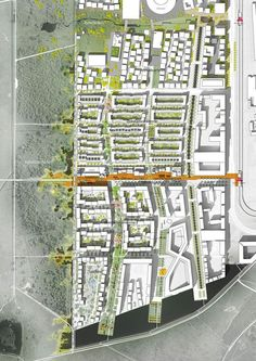 Neighborhoods and walking for 5 minutes are the foundation of new urbanism, and now are the basis for overall planning. Landscape Architecture Drawing, Landscape And Urbanism, Landscape Plans, Architecture Plan, Urban Landscape, Landscape Design, The Plan, How To Plan, Urban Design Diagram