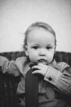 A little boy. One year old photography.