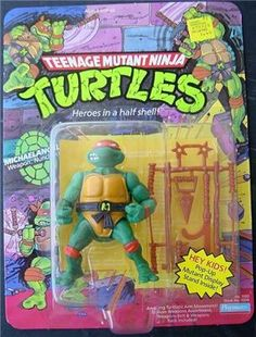 TMNT Playmates toy: Mikey