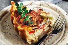 Τάρτα με Πιπεριές και φέτα: απίθανος συνδυασμός - μια φανταστική τάρτα γεμάτη μυρωδιές και γεύσεις καλοκαιρινές!
