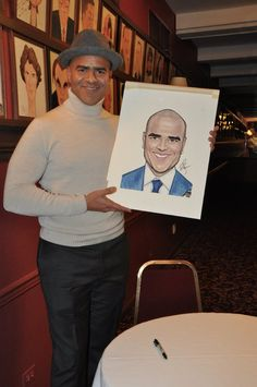Photo Coverage: Christopher Jackson Celebrates New Sardi's Caricature