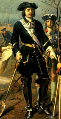 Pedro I de Rusia (Tsar Peter I The Great) 37