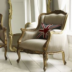 love this fabric--love this chair