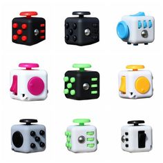 Fidget Cube - This year's Must Have - Choose Color for Easter