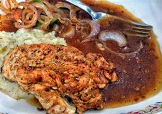 chicken steak wid brown sauce Recipe -  Very Tasty Food. Let's make it!