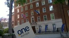 Of course we've been here! Europe Haus in #London with @ivanbotoucharov
