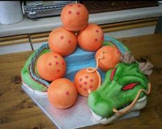 Dbz cake <3 All of my wants.