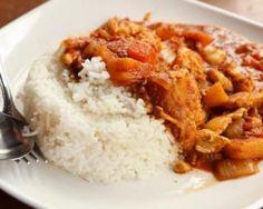 Tikka Masala - More than cooking Diner Recipes, Meat Recipes, Cooking Recipes, Healthy Recipes, Pollo Tikka Masala, Penang, Curry Chicken And Rice, Island Food, Exotic Food
