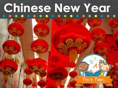 Ideas and activities for celebrating the Chinese or Lunar New Year in your preschool, pre-k, or kindergarten classroom.