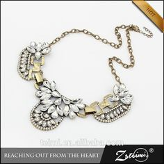 765a221a7708 Shop Women s Gold size OS Necklaces at a discounted price at Poshmark.  Description  Gorgeous sparking statement necklace with gold accents.