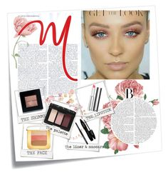 """""""rose gold"""" by andreachidisima on Polyvore featuring beauty, Post-It, Polaroid, Bobbi Brown Cosmetics, Lancôme, NARS Cosmetics, Givenchy and Tom Ford"""
