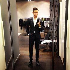 adamgalla:  @Hugo Ahlberg Ahlberg BOSS fitting  (at HUGO Store)  http://lemme-holla-at-you.tumblr.com/