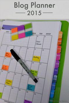Blog Planner from NewtonCustomInteriors.com