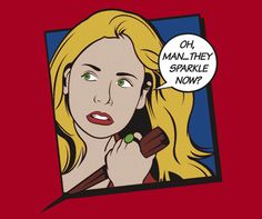 Oh, Man... They Sparkle Now? - Buffy the Vampire Slayer Spike T-Shirt