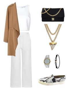 """"""".."""" by fatimah42 on Polyvore featuring Chanel, Givenchy, Vince, OMEGA, Cartier, M.i.h Jeans, Carolina Herrera and MANGO"""