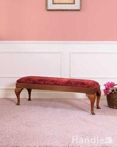 イギリスから到着したアンティークフットスツール(足置き) (q-337-c) Entryway Bench, Dining Bench, Furniture, Home Decor, Entry Bench, Hall Bench, Decoration Home, Table Bench, Room Decor