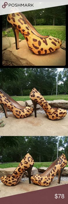 Selling this 💜Steve Madden Leopard Pumps on Poshmark! My username is: lilybean17. #shopmycloset #poshmark #fashion #shopping #style #forsale #Steve Madden #Shoes