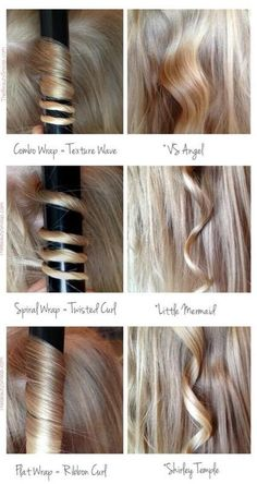 How to curl hair