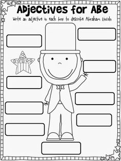 First Grade February Printables Adjectives Activities, Classroom Activities, Classroom Ideas, Second Grade Writing, First Grade, Grade 1, Study Helper, Describing Words, Autumn Activities For Kids