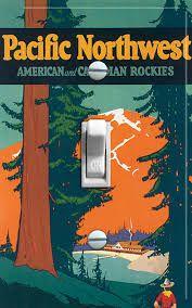 Image result for vintage camping poster