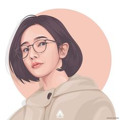 ᴠᴇᴄᴛᴏʀ x vᴇxᴇʟ ɪɴᴅoɴᴇsɪᴀ ( Vector Portrait, Digital Portrait, Portrait Art, Illustration Vector, Portrait Illustration, Caricature, Drawing Body Proportions, Cover Wattpad, Cute Vector