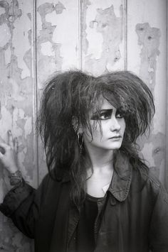 goth Sophie, 1985 [photo by Cybele viaCybele R - Vintage Goth, Victorian Goth, 80s Goth, Punk Goth, Goth Subculture, Goth Makeup, New Romantics, Gothic Rock, Retro Pop