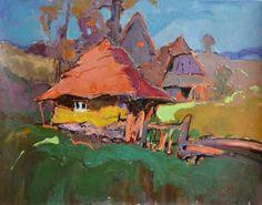 """Saatchi Art Artist Shandor Alexander; Painting, """"Heat October"""" #art"""