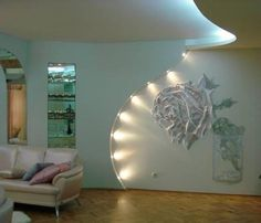 Modern Wall Decor Ideas Personalizing Home Interiors with Unique Wall Design-love....!