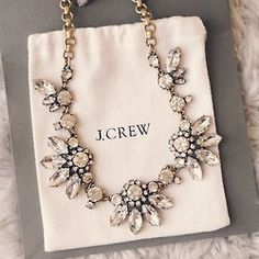 beauty jewelry fashion girly tee accessories necklace statement necklace Preppy j.crew accesories statement j. crew jcrew sexy love