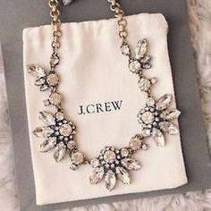 beauty jewelry fashion girly tee accessories necklace statement necklace Preppy j.crew accesories statement j. crew jcrew sexy love