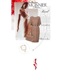 """""""Pretty and fashionable with MONNIER Frères!"""" by black-rose-oara on Polyvore"""