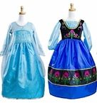 Elsa and Anna Inspired Dress Up Set
