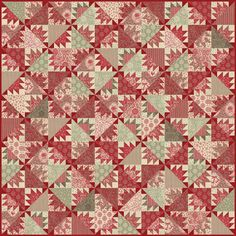 French General quilt from Moda blog