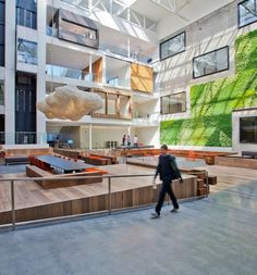 """Airbnb, a popular online marketplace that allowspeople to list, discover, and book accommodation around the world, recentlyexpanded its headquarters in San Francisco's SoMa district. """"For phase II of the Brannan ... Read More"""
