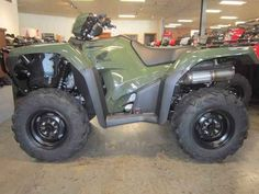 New 2017 Honda FourTrax® Foreman® Rubicon® 4x4 EPS ATVs For Sale in North Carolina. It doesn't matter whether we're talking about architecture, transportation, clothing, food or music: the real greats stand the test of time. And when you're talking about all-terrain vehicles, that test means two things: how many hours a day you want to ride, and how long your ATV lasts. The Honda FourTrax Foreman Rubicon knocks it out of the park on both counts. It's a premium ATV that places a…
