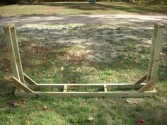 Firewood Rack Plans - Free Plans To Build Your Own Firewood Rack
